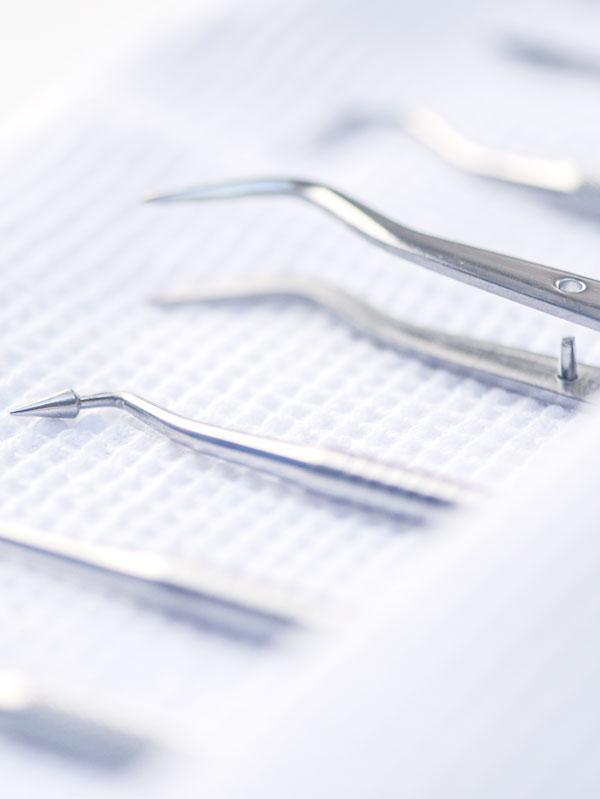 dentiste matériel détartrage dentaire